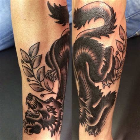 traditional wolf tattoo traditional grey ink wolf on sleeve