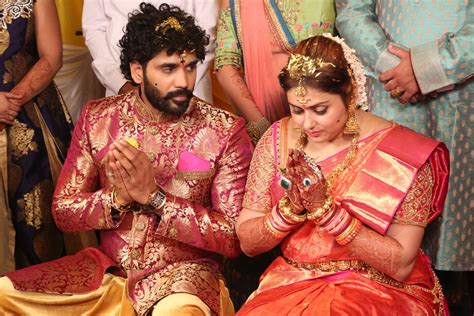 New Marriage Photos by Namitha Wedding Photos Actor And Bigg Tamil