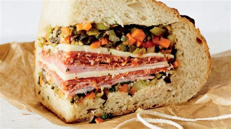 american sandwich recipes make your own muffuletta and