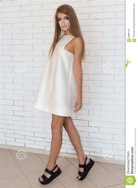 To Trendy White beautiful bold fashionable in white dress in trendy
