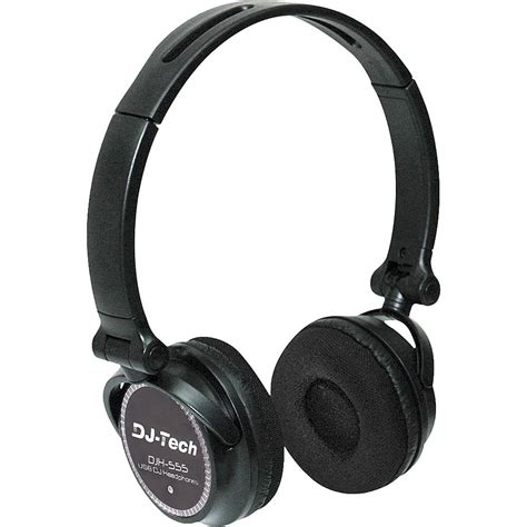Headphone X Tech dj tech djh 555 usb dj headphone djh 555 b h photo