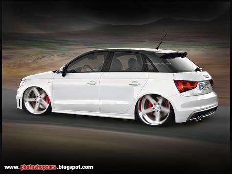 Audi A1 Sportback Tuning by Photoshopcars Carros Tuning Virtual Tuning Rebaixado