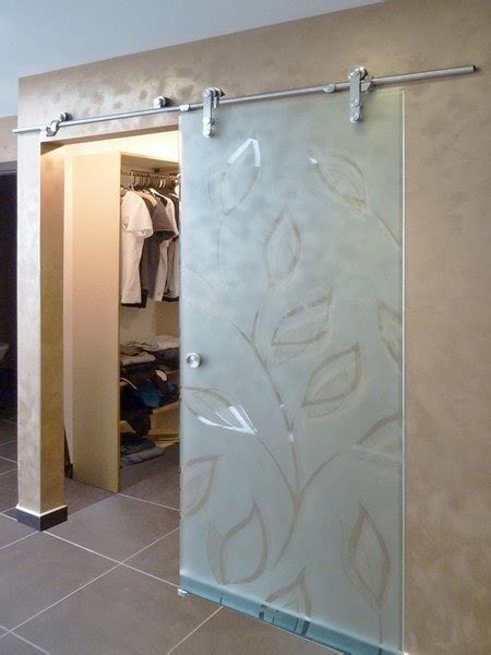 sliding glass barn doors creative mirror shower