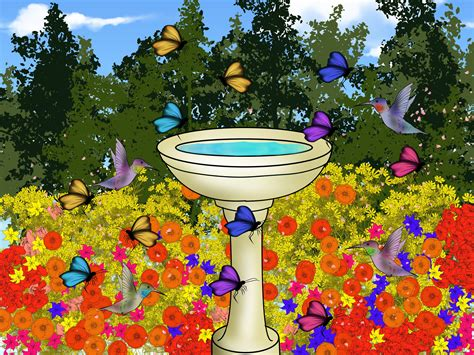 attracting butterflies and hummingbirds to your backyard how to create a butterfly and hummingbird garden 6 steps