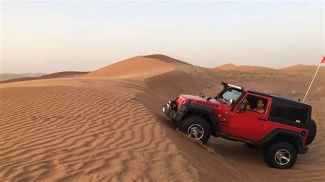 Wrangler Abu Abu By Snf2012 jeep wrangler abu dhabi desert road slo mo
