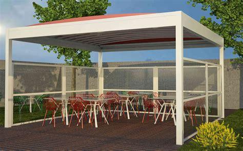 gazebo per esterno bar paraventi modulari per esterno per bar dehors gelaterie