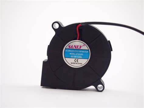 Fan Casing Brushless Hitam Kipas 7 Cm Dc 12v free shipping sanly sf5015sl sf5015sm 12v 0 06a server cooling fan 5cm 5015 50x50x15mm blower jpg