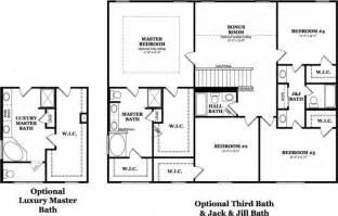Floor plan with jack and jill bathroom google search floors plans