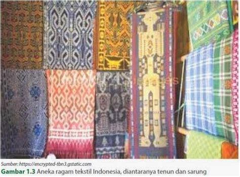 Gendongan Kain Batik Asli 3warna prakarya dan kewirausahaan kerajinan tekstil tradisional