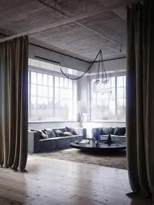 Curtains For Loft Tribeca Loft The Curtains 客室