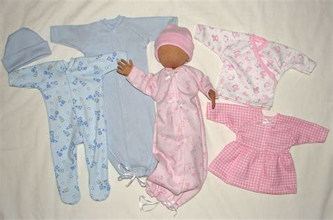 pattern for preemie clothes preemie doll clothing sewing pattern preemies dolls and