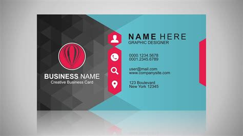 coreldraw business card tutorial business card design inspiration coreldraw tutorial