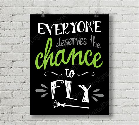 printable wicked poster printable wicked broadway musical lyrics chance to fly word