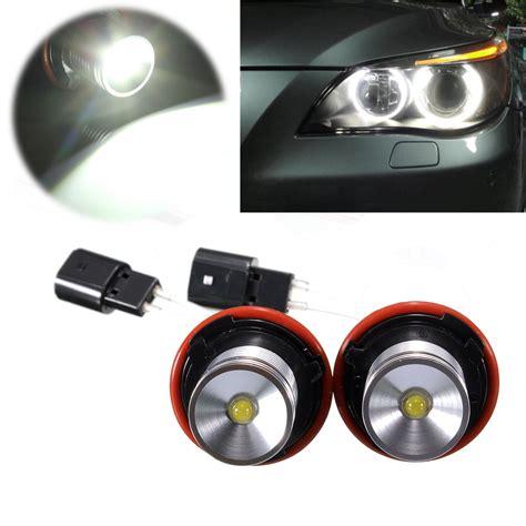 Led White Angel Eye Halo Light Bulb 5w For Bmw E39 E60 E63 Halo Led Light Bulbs