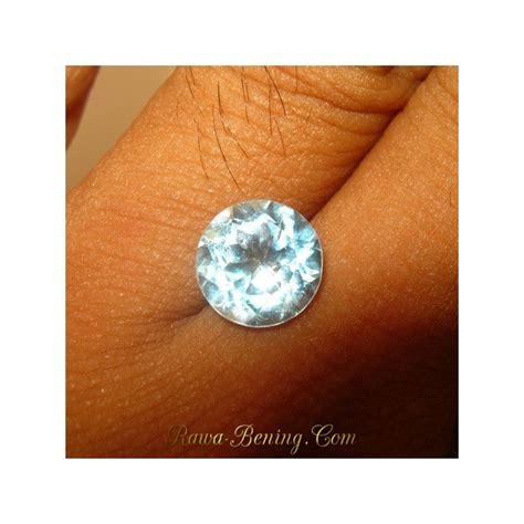 Batu Permata Topaz Sky promo batu permata topaz sky blue cut 3 60 carat