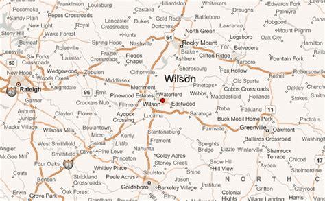 wilson carolina map wilson location guide
