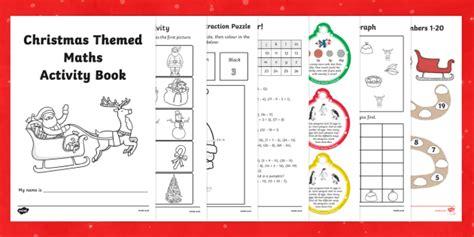 themed stories nz maths christmas themed maths activity book christmas maths