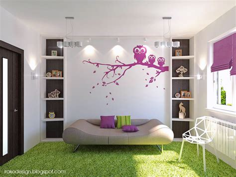 purple bedroom ideas for girls purple white green wenge girls room interior design ideas