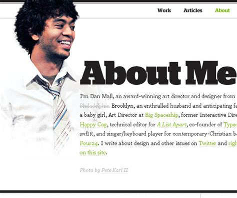 about me page template 15 great