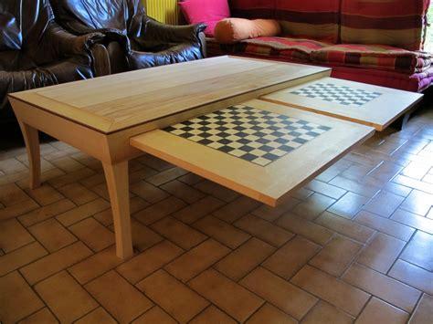 table echiquier table basse en fr 234 ne avec 233 chiquier et damier j 233 r 244 me