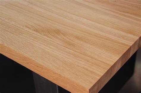 massivholz arbeitsplatte küche eiche arbeitsplatte massiv dockarm