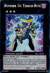 Kartu Yugioh Number 34 Terror Byte Secret yu gi oh einzelkarten packs pack 2013 nummer 34 terror byte mawo cards