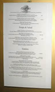 america statendam menu dining room picture on