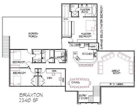 split house plans bi level entry house plans