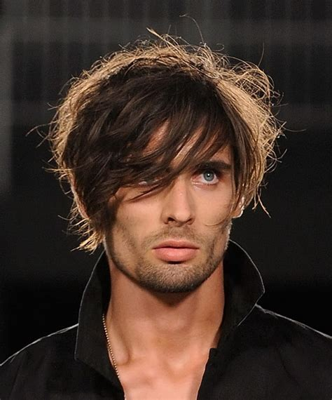 feather hair styles for men feathered hairstyles for men