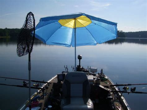 boat with umbrella boat umbrella