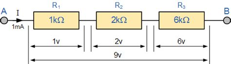 a resistor is connected in series with this combination so as to produce a voltmeter resistors in series series connected resistors
