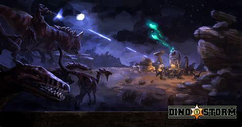 dino storm media wallpaper artwork screenshots