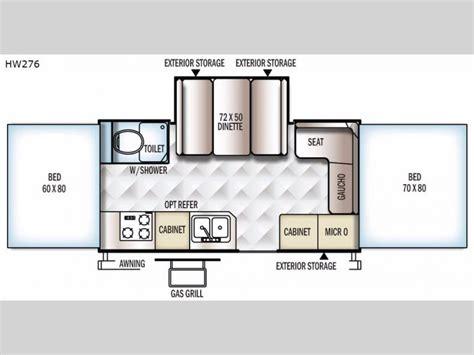 rockwood trailer floor plans rockwood high wall series folding pop up cer rv sales