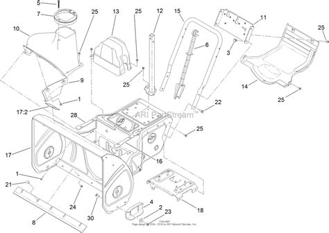 toro snowblower parts diagram toro 724 snowblower parts diagram imageresizertool