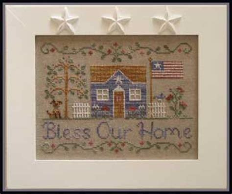 country cottage needleworks silent night cross stitch pattern 123stitch com country cottage needleworks bless our home cross stitch