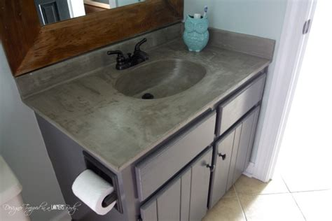 Concrete Countertops Bathroom Vanity 10 Small But Impactful Diy Bathroom Upgrades