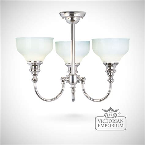 Edwardian Bathroom Lighting Cheadle Chrome Ceiling Light Lights