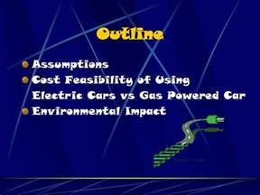 Electric Cars Presentation Ppt Ppt Electric Cars Vs Gasoline Cars Powerpoint