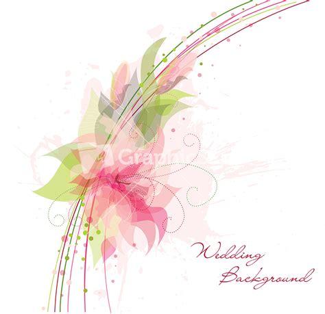 Flower Wedding Invitation Image