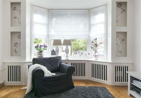 raambekleding jaren 30 raamdecoratie woonkamer erker