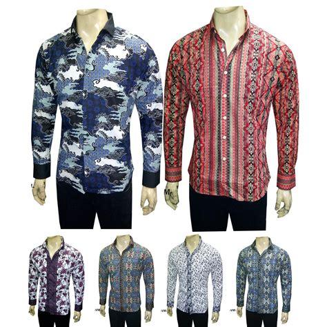 Batik Premium Slimfit Lengan Pendek 8 vm kemeja batik pria slim fit premium katun quality