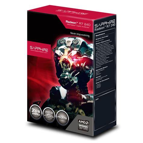 Powercolor Amd Radeon R7 240 2gb Ddr3 Oc 128 Bit Garansi Resmi sapphire radeon r7 240 2g ddr3 carte graphique sapphire