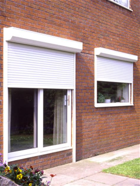 home security shutters and roller shutters external or
