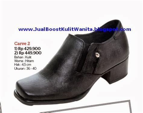 Sepatu Wedges Wanita Kulit Sapi Asli Casual Kerja Santai jual sepatu boots kulit wanita jual sepatu boots kulit