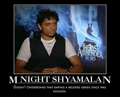 M Night Shyamalan Meme - avatar the last airbender series vs movies