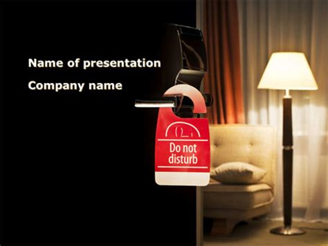 Homelike Hotel Presentation Template For Powerpoint And Hotel Powerpoint Presentation Templates