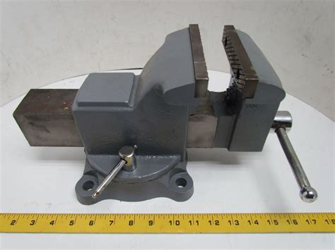 bench vice jaws westward 5 quot mechanics bench vise 360 swivel base pipe jaws