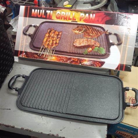 Multi Grill Pan By Livyhollen promo multi grill pan alat panggang anti lengket