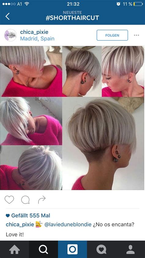bobbed haircut with shingled nape 12504 best images about back view assym bobs on pinterest