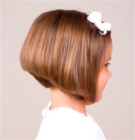 a line kid cut stacked bob hairstyle for kids bob haircuts pinterest
